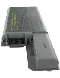 Batterie type DELL DF192, Haute capacité, 11.1V, 6600mAh, Li-ion