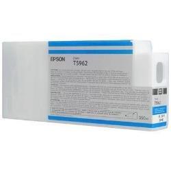 Epson T5962 C13T596200 - Cartouche d'encre d'origine - Cyan pour Stylus Pro - 350ml