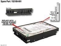 HP SP/HP HDD 9GB SCSI WU310K DL320-Festplatte (SCSI, 9.1GB, 10000RPM, ULTRA3) -