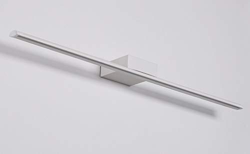 40 * 5CM Modern LED Spiegelleuchte bad Design Spiegellicht Hell Spiegellampen Metall Acryl Badwandlampe Badezimmer schminkspiegel Drei-Farben-Licht IP44 9W 630LM [Energieklasse A++]