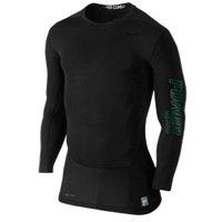 Nike Herren Pro Combat Hypercool Vapor Power Compression Shirt schwarz (Combat Nike T-shirt Pro)