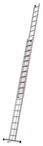 HYMER 405136 Seilzugleiter zweiteilig, 2x18 Sprossen