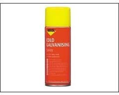 SGALV Galv Spray 3 X 400 ml Quick Drying Paint For Use As A Protective Coating And Primer On Steel by Deligo