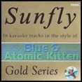 Sunfly Karaoke Gold Series 038- Blue & Atomic Kitten(CD+G) -