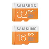 Samsung EVO 16GB and 32GB Class 10 Micro SDHC Memory Card- 2Pcs Combo Only From M.P Enterprise