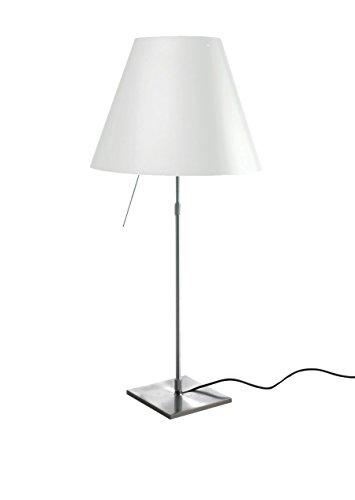 Luceplan Costanza D13 C Lampada Da Tavolo, Alluminio