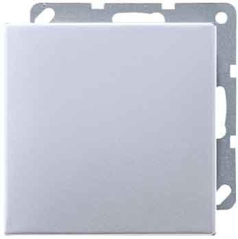 Jung ls990 - Placa ciega aluminio