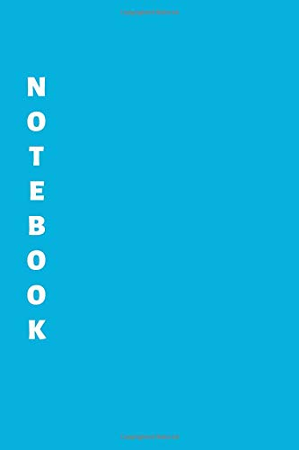 Notebook: Blue Lined Notebook & Journal for Writing (110 pages, Lined, 6 x 9 inches, Matte, Colorful Cover) || Classic Notebooks (Evernote Moleskine Journal)