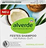 alverde NATURKOSMETIK festes Shampoo mit Kokos