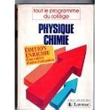 Physique-chimie / tout le programme du college