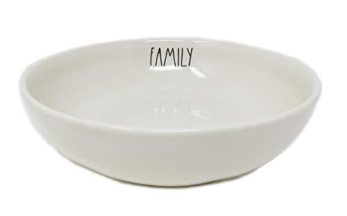 Rae Dunn By Magenta Family LL-Keramik-Schüssel, rund, 21 cm -