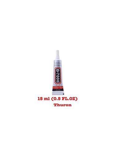 THURON B-7000 15 ML Colla Industriale Multiuso Altamente performante 15 ml 0,51 FL.oz incl. Punte di precisione così da poter riparare persino il display di uno smartphone.