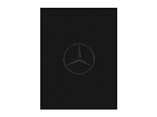 Mercedes-Benz Wende-Fleecedecke schwarz/anthrazit