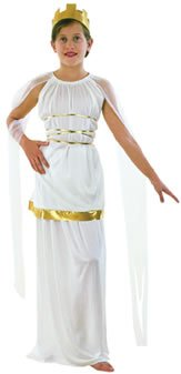 Goddess Athena Fancy Dress Costume (child size) - Large by Just For Fun