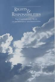 Rights and Responsibilities: The Complementary Roles of the Individual and Institutions