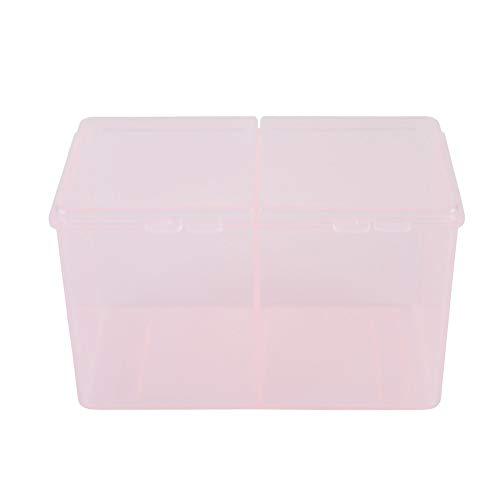 Nail Organizers And Storage - Nagel Aufbewahrungsbox, Wattepads Container Aufbewahrungsbox für Nagellack Glitter Powder 2Pcs -