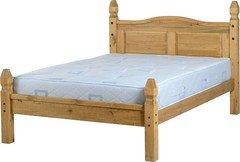Seconique Mexican Princess Double Bed Frame (Default)