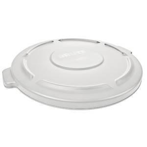 Rubbermaid Produkte 2645-60-wht flach Trash kann Deckel für 44Gallonen Rubbermaid Brute, weiß (Rubbermaid-44-gallonen-brute)