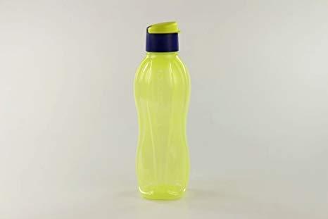 TUPPERWARE Ecobottiglia Click da 750 ml giallo verde porpora 16918