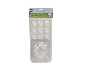 Make Your Own Easter Egg Chocolate Mould Small & Mini Easter Egg Moulds by PMSÃ'® (Easter Große Eggs Kunststoff)