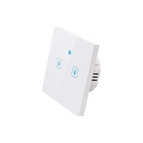 Festnight WiFi Interruptor táctil Inteligente Interruptor de Pared Luz Interruptor de Pantalla...