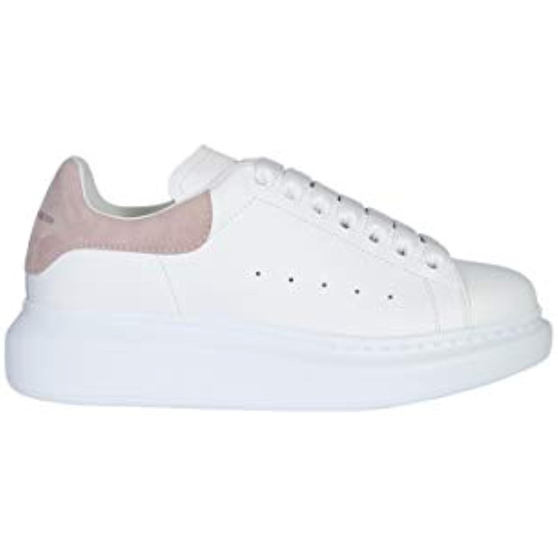 Alexander McQueen Femme 462214WHGP79182 Blanc Baskets Cuir Baskets Blanc - B07JPZBLNL 597e26