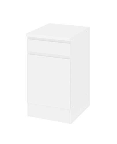 Tvilum Küchen Unterschrank 50 cm weiß Küchenschrank Küche Möbel Bad Badezimmer Schrank