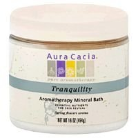 Tranquility Aromatherapy Mineral Bath 16 oz Jar ( Multi-Pack) by Aura Cacia