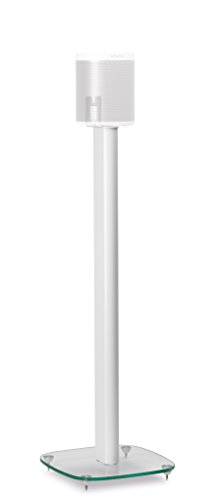 alphason-sonos-play1-speaker-floorstand-stand-white-bespoke-glass-stand