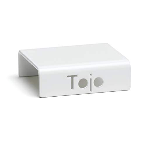 B/ücherregal Tojo Hochstapler I Grundmodul f/ür modulares Regalsystem mit T/üren I Grundmodul f/ür EIN individuelles Wandregal CD Regal I MDF Regal Farbe Wei/ß