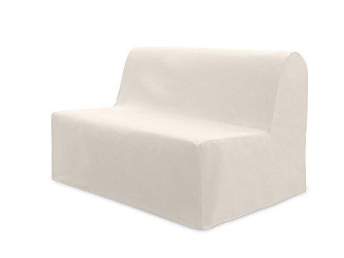 Fodera per divano letto in cotone panama écru