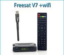 Free SAT V7 HD DVB-S2 ricevitore satellitare, TV digitale, Radiodiffusione, decoder, con supporto USB PVR EPG per TV HDTV