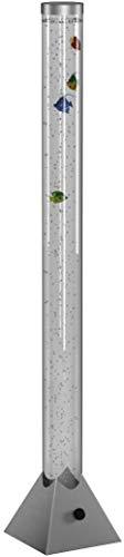 Reality Leuchten R5073-47 LED-Wassersäule, EEK A, mit Farbwechsler, inkl. 5-er Set Deko-Fische, in titanfarben - 8