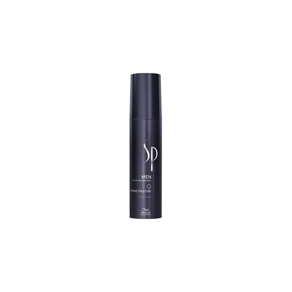 Wella SP System Professional Men Defined Structure – Crema de peinado (100 ml)