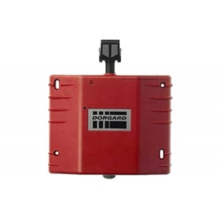 Dorgard rot Auto Fire Türschließer, automatisch schließt auf Gehör der Alarm Sound Feuer-alarm-verkabelung