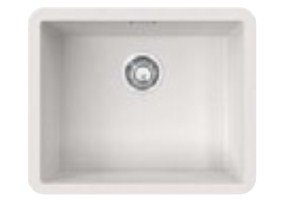 Franke FSS-110-50 Top-mount sink – Fregadero (Fregadero sobre encimera, Rectangular, Color blanco, Rectangular, 500 x 400 mm)
