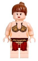 (Lego Star Wars Slave Princess Leia Minifigure (2003 version) by LEGO)