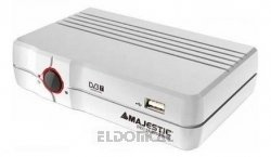 Majestic-verstärker (Audiola Majestic DEC-554 DVB-T Resiver digitaler Empfänger (USB 2.0 Decoder,2 x SCART,Timer programmierbar, Videotext) schwarz)