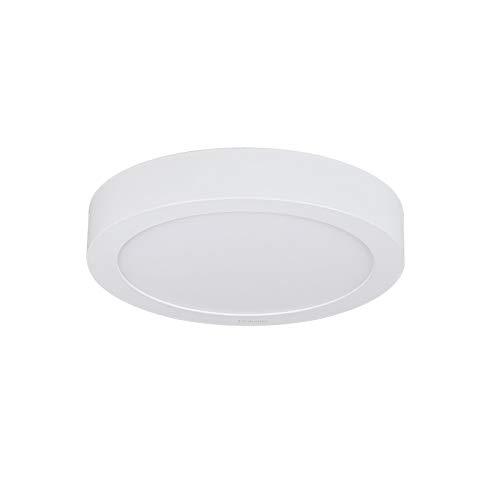 Diolumia - Plafonnier LED Design Rond 18W équivalent 150W - Blanc Chaud 3000K - 1440LM - Ra≥80 - Panneau LED - Diam.225 * 40mm