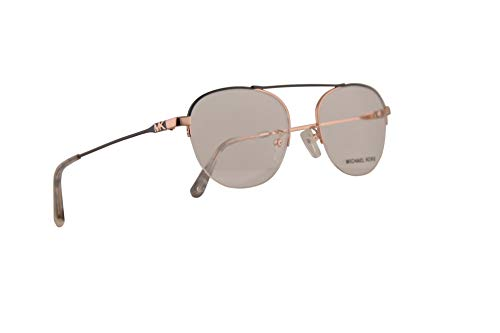 Michael Kors MK3028 Casablanca Eyeglasses 51-18-140 Shiny Rose Gold w/Demo Clear Lens 1108 MK 3028