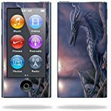 MightySkins Protective Skin Decal MP3 Player wrap sticker skins Dragon Fantasy Cover