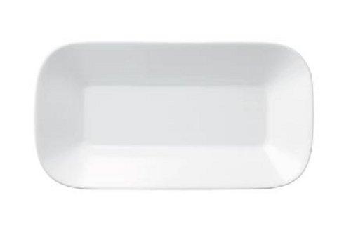 Kahla - Porcelaine pour les Sens 427770A90042C Cumulus Plat de Service Rectangulaire Blanc 18 x 9 cm