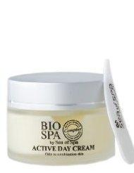 'Sea of Spa' Bio Spa Active Day Cream (oily to combination skin) PARABEN FREE - Bio Spa Crème de Jour Active (pour la peau huileux et combinée) SANS PARABEN