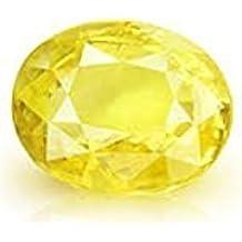 Vaibhav Gems 4.25 Ratti Yellow Sapphire Pukhraj Stone Original Certified Natural Loose Precious Gemstone