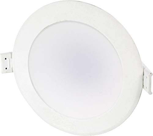 Foco LED empotrable (10 W, 230 V, 90 mm de diámetro, blanco...