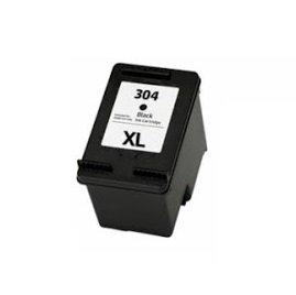 Printing Pleasure XL Negro Cartucho de Tinta Compatible para HP Deskjet 2620 2630 2632 2633 2634 3700 3720 3730 3732 3733 3735 Envy 5020 5030 5032 | Reemplazo para HP 304XL (N9K08AE)