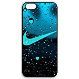 Water Droplets Background Nike Phone Case Cover for Coque iphone 7 Just Do It Luxury...