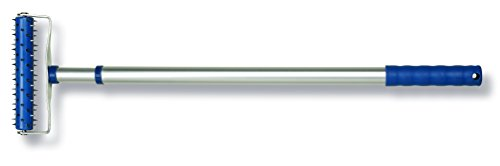 Color Expert Profi-Stachelwalze Aluminium, 15 cm, 1 Stück, silber / blau, 95813044