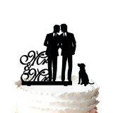 Kaishihui Gay Mr et Mr, Unique de gâteau de gâteau de mariage pour Groom Cadeau