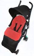 Saco/Cosy Toes Compatible con Bebecar Spot para carrito, color rojo